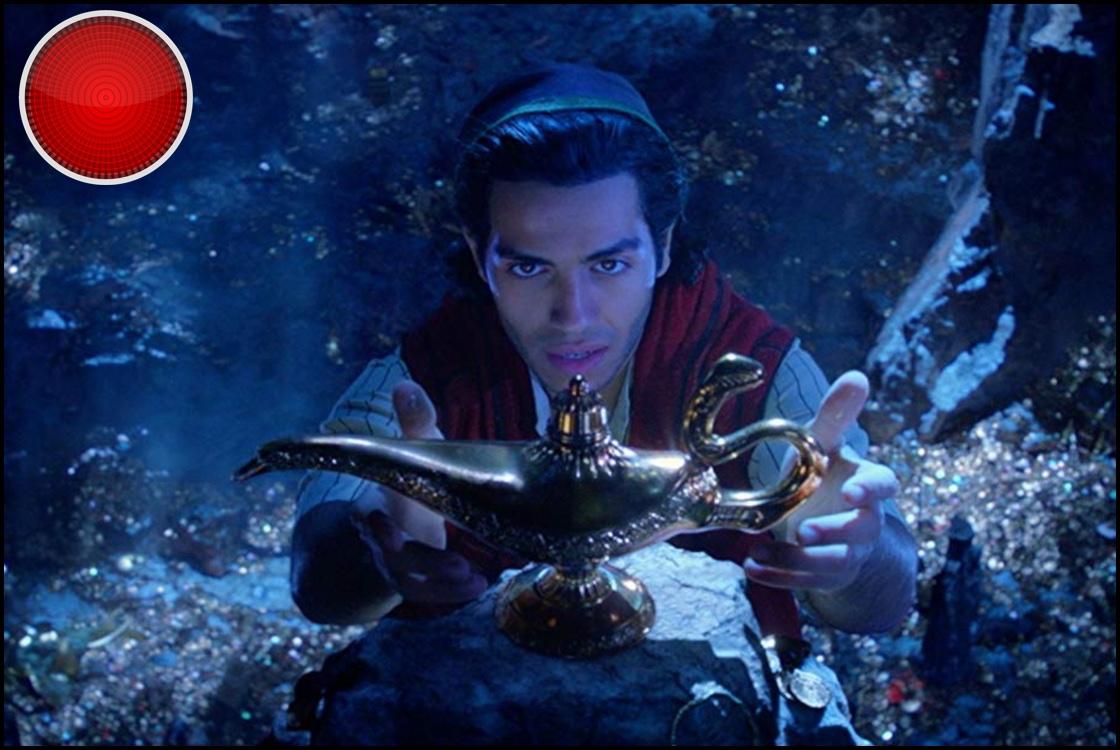 Aladdin 2019 red light