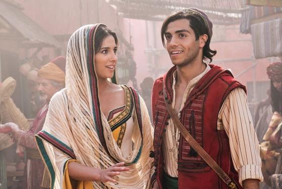 Aladdin Naomi Scott Mena Massoud