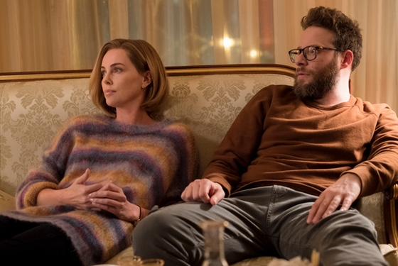 Long Shot Charlize Theron Seth Rogen