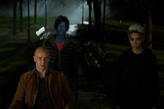 X-Men Dark Phoenix James McAvoy Kodi Smit-McPhee Alexandra Shipp