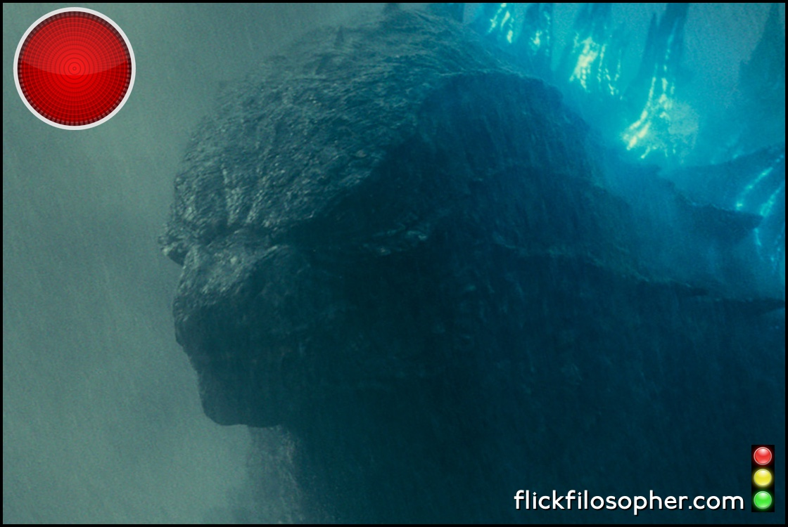 Godzilla King of the Monsters red light