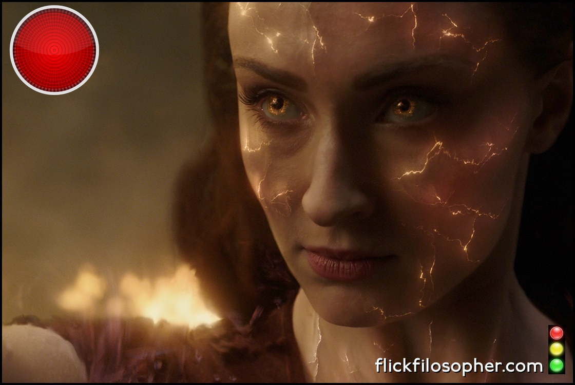 X-Men Dark Phoenix red light