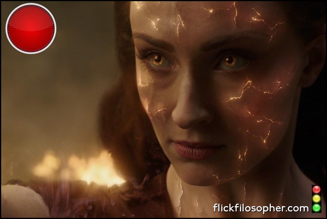 X-Men Dark Phoenix red light