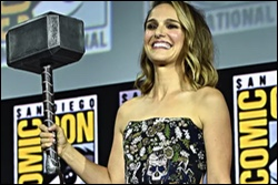curated: Natalie Portman announced as Thor, and the manbaby fanboys are freaking out