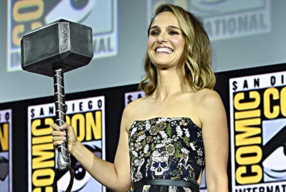 Natalie Portman Thor San Diego Comic-Con