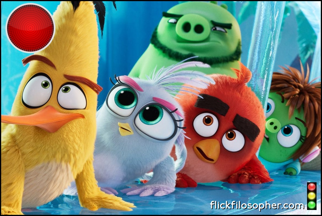 The Angry Birds Movie 2 red light