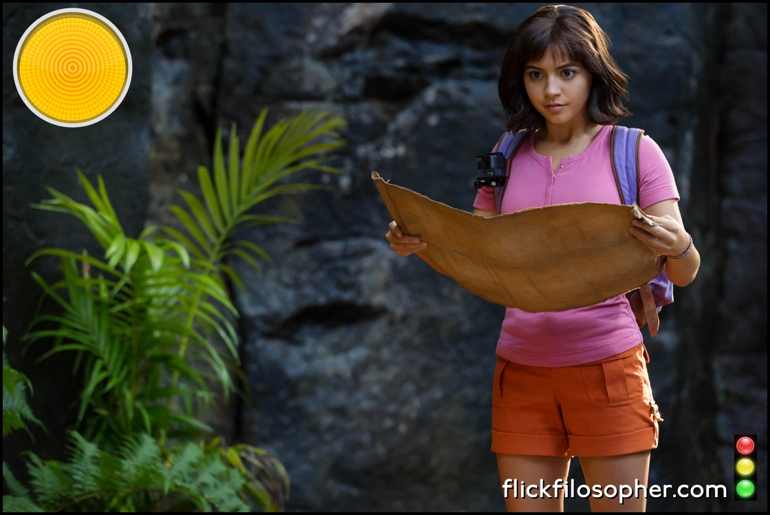 Dora and the Lost City of Gold yellow light