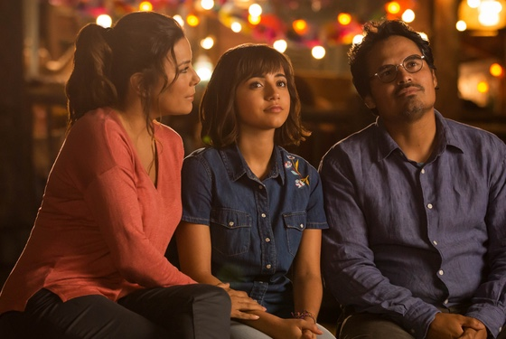 Dora and the Lost City of Gold Eva Longoria Isabela Moner Michael Peña