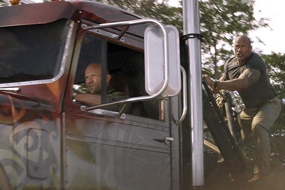 Fast & Furious Hobbs & Shaw Jason Statham Dwayne Johnson