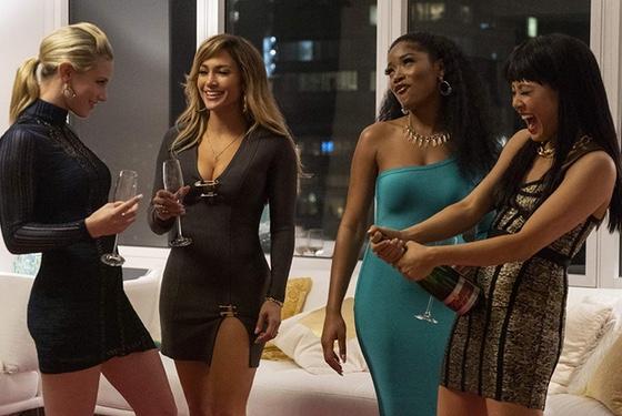 Hustlers Lili Reinhart Jennifer Lopez Keke Palmer Constance Wu