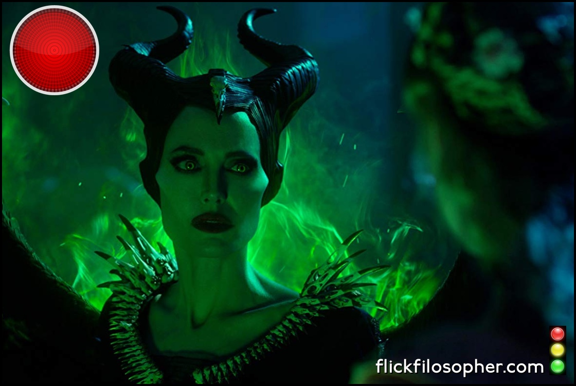 Maleficent Mistress of Evil red light