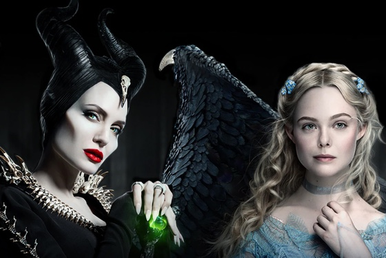 Maleficent Mistress of Evil Angelina Jolie Elle Fanning