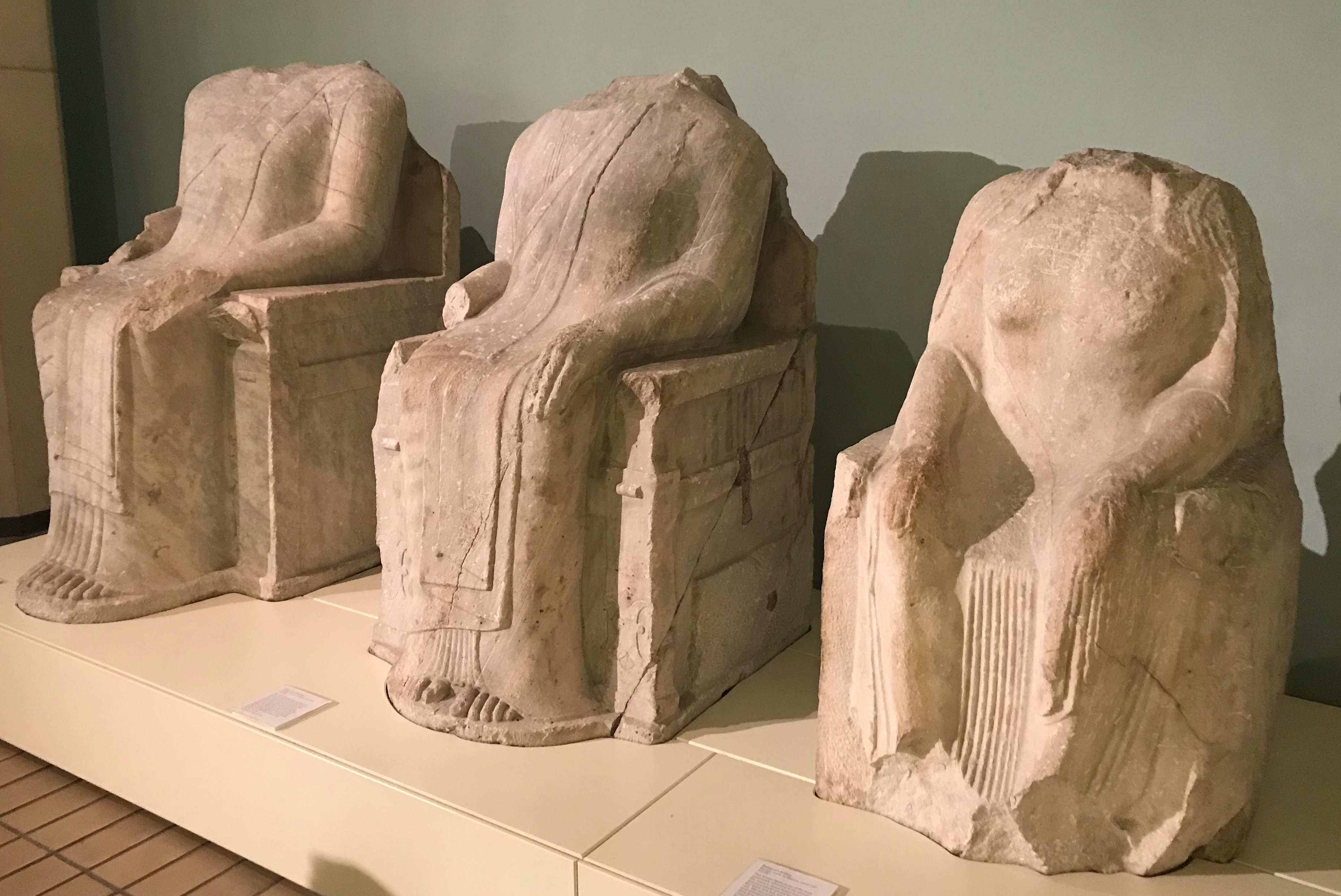 (fictional) Notes from The British Museum
