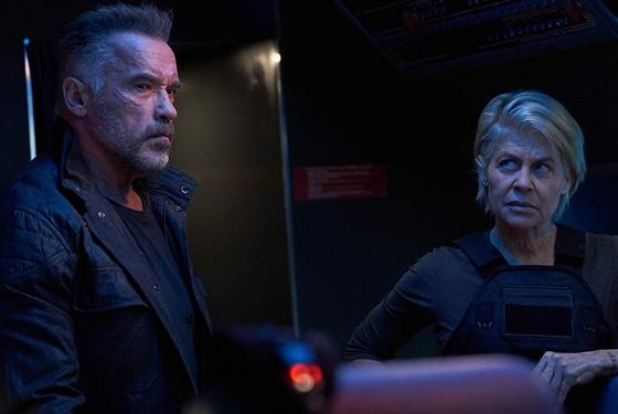 Terminator Dark Fate Arnold Schwarzenegger Linda Hamilton