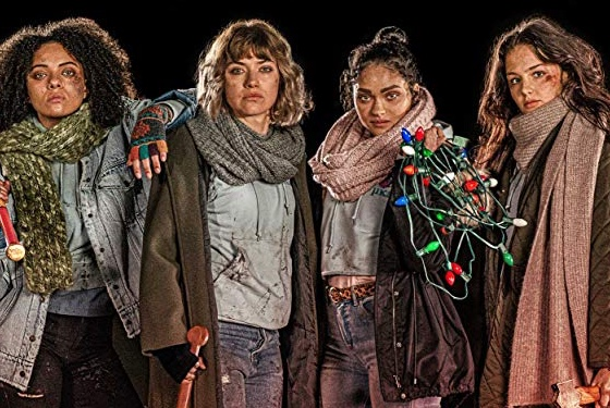 Black Christmas Imogen Poots Aleyse Shannon Lily Donoghue Brittany O'Grady