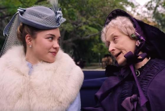 Little Women 2019 Florence Pugh Meryl Streep
