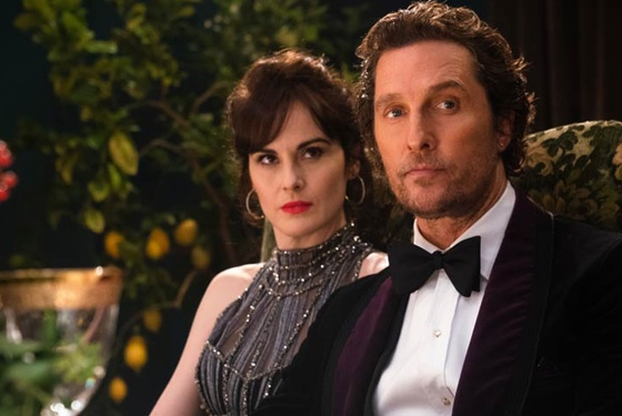 The Gentlemen Michelle Dockery Matthew McConaughey