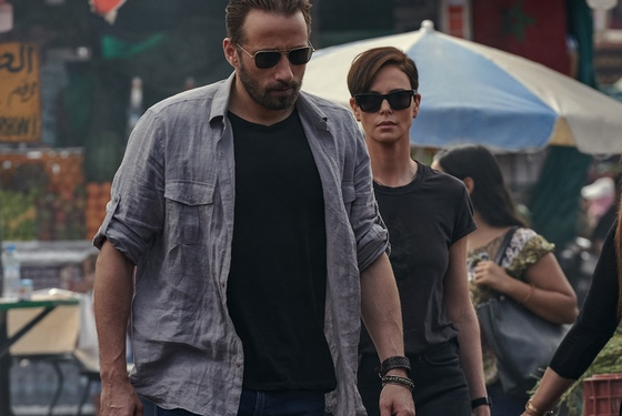 The Old Guard Matthias Schoenaerts Charlize Theron