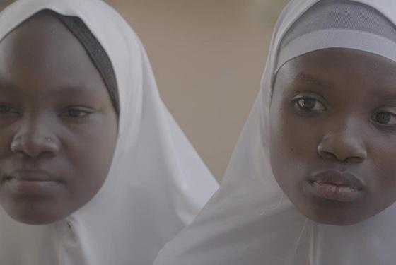 African Apocalypse girl students