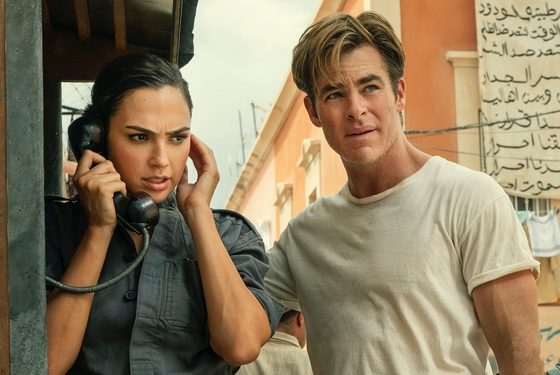 Wonder Woman 1984 Gal Gadot Chris Pine