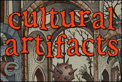 'Cultural Artifacts' out now! (about the cover, plus a giveaway)