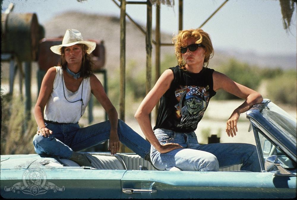 Thelma and Louise Susan Sarandon Geena Davis
